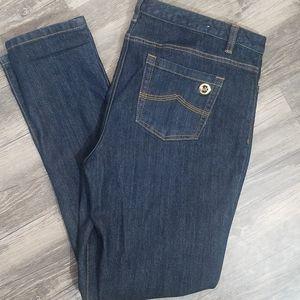 Michael kors dark wash skinny jean